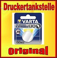 original Varta Lithium Batterie Knopfzelle CR2032 CR 2032 3V