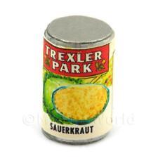 Dolls House Miniature Trexler Park Brand Sauerkraut Can (1940s)