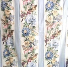 "Vtg Pair Luxury Custom Drapes Pinch Pleat Curtains Panels Heavy Lined 44� X 85"""