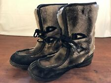 B. F. Goodrich Womens Vintage Fur Covered Hipster Boots Size 8-9 S1