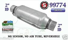 """99774 Eastern Universal Catalytic Converter ECO GM Catalyst 2"""" Pipe 12"""" Body"""