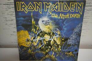 Iron Maiden-Live after Death-2 LP,FOC,OIS + Tour Flyer EMI 1985