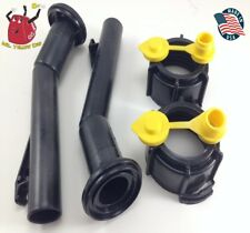 2 -Blitz Gas Can Spouts Rings Vents Replacement Vintage 900094 900092 - NEW!!