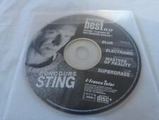 STING - BLUR - ELECTRONIC - SUPERGRASS - MASTER OF REALITY RARE CD PROMO FRANCE
