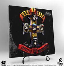 GUNS N' ROSES: APPETITE FOR DESTRUCTION 3D Vinyl Collector Series KNUCKLEBONZ