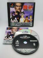 Tekken 2 Video Game + Point Blank Demo for Sony PlayStation PS1 PAL TESTED