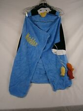"Company Store Kids Hooded Towel Penguin ""Maddox"" 8219S 10511"