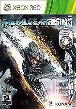 Metal Gear Rising: Revengeance  -- Microsoft Xbox 360 -- C+ CONDITION