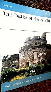 OSPREY FORTRESS #66: THE CASTLES OF HENRY VIII