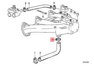 Genuine BMW 114 89V1 89V2 Radiator Cooling Hose Clamp x10 pcs OEM 07129952113