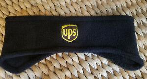 new - UNITED PARCEL SERVICE - ups - HEADBAND - black - LOGO - ear covering -OSFM