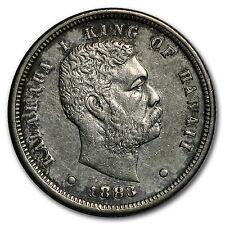 1883 Hawaii Ten Cents XF - SKU #97640