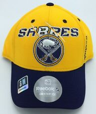 NHL Buffalo Sabres Reebok Adult Flex Fit Structured Cap Hat Beanie NEW!