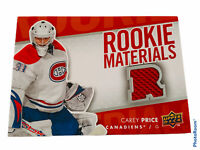 🔥 2007-08 Upper Deck Rookie Materials Jersey RM-CP Carey Price