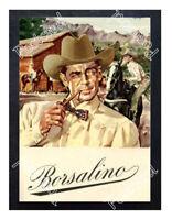 Historic Italian hat manufacturer Borsalino, 1900s Advertising Postcard