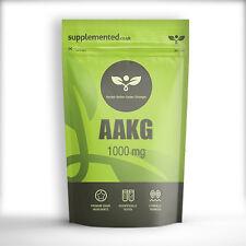 Aakg 1000mg x 180 Capsules Arginine Alpha Ketoglutarate monoxyde d'azote NO2
