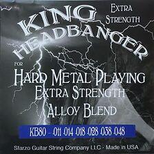 King Headbanger KB80 Hard Metal Playing Electric Guitar Strings 11-48