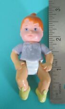 "Mattel Baby Doll Dollhouse Loving Family 2.75"" Figure Purple Top Vintage 1990s"