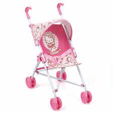 Hauck Toys for Kids Puppenbuggy Puppenwagen Go-S mit Sonnenverdeck - Hello Kitty