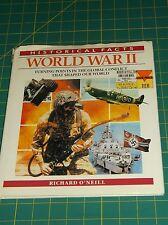 HISTORICAL FACTS~WORLD WAR II-TURNING POINTS THAT SHAPED WORLD-O'NEILL HC W/DJ