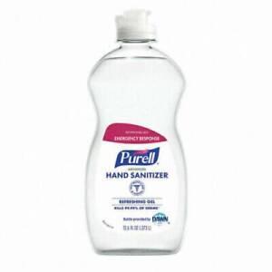 *1-Pack* Purell Advanced Hand Sanitizer 12.6oz Gel Flip Top Bottle 9747-12-S