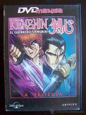 DVD KENSHIN EL GUERRERO SAMURAI LA PELICULA