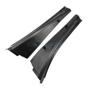 2x Fit For 08-15 Nissan Qashqai Wiper Water Deflector Plate Front Windshield