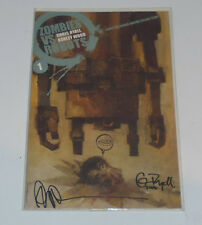 Zombies vs Robots #1 signed edition variant rare