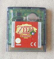 Nintendo Gameboy Colour game - The Legend of Zelda Oracle of Seasons GAME ONLY