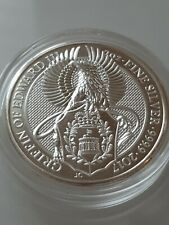 Griffin of Edward 2oz fine silver proof coin Queen's Beasts. Superb condition.