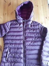 Ladies Purple hood Lightweight MOUNTAIN WAREHOUSE Jacket Size 16 worn twice