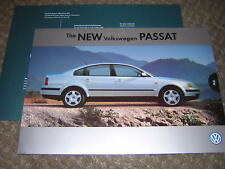 ORIGINAL NEW VOLKSWAGEN PASSAT SALES BROCHURE 1996