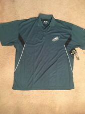 NFL TEAM APPAREL PHILADELPHIA EAGLES POLO SHIRT MENS Big & Tall 3XL  NWT