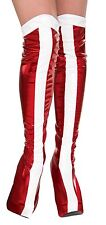 ADULT DC COMICS WONDER WOMAN BOOT TOPS COSTUME ACCESSORY RU32217