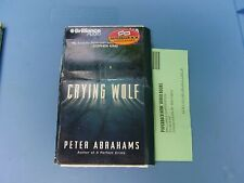 Crying Wolf by Peter Abrahams 2001 Cassette Abridged - 3 hours