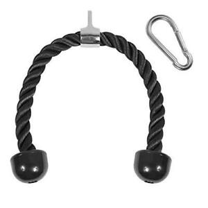 """Yes4All Tricep Rope - Exercise Machine Attachment Press Down - 27"""" Rope Length"""