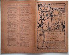 Revue de Provence n°80- 1905 : Projet de culture de canne à sucre dans le Var
