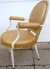 Style Andre Arbus fauteuil médaillon style Louis XVI