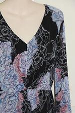 Bettina Liano Long Sleeve Top Detail Pics Size 8