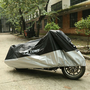 XXXL Waterproof Motorcycle Cover For Harley Davidson Street Glide FLHX Touring