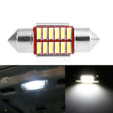 2Pcs x 31mm 4014 12SMD C5W LED Light Canbus Festoon Dome Lamp Car License Plate