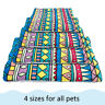 Large Indestructible Dog Bed Warm Fleece Cushion Sleep Mat for Kennel Crate S-XL