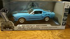New Shelby Collectibles 1967 Shelby GT 500E Eleanor 1/18 Die Cast Model Cobra