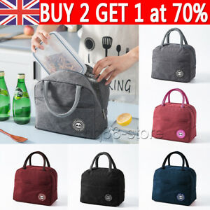 Proteble Insulated Lunch Bag Box for Women Men Thermos Cooler Hot Cold Tote