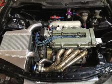 BLACKWORKS BWR SIDE MOUNT TURBO MANIFOLD T3 V BAND Honda Acura B18 B16 B20 RARE