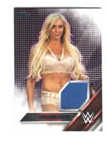 WWE Charlotte Flair 2016 Topps Event Used Shirt Relic Card SN 87 of 299