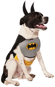 Dc Comics Classic Batman Pet Dog Cat Superhero Halloween Costume