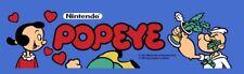 Popeye Arcade Marquee – 26″ x 8″