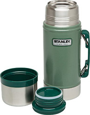*STANLEY* Classic Wide Mouth 24 oz Stainless Vacuum Bottle Canteen Thermos