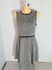 tibi NEW YORK  Kleid  Etuikleid  Gr. 38 ( 8 ) schwarz - weiß  ärmellos  WIE NEU